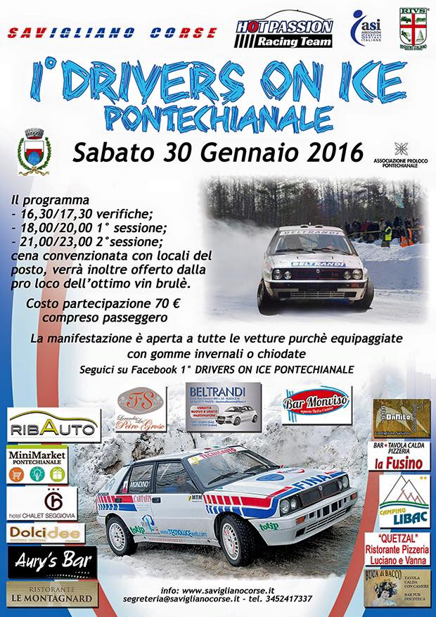 1° DRIVERS ON ICE - PONTECHIANALE