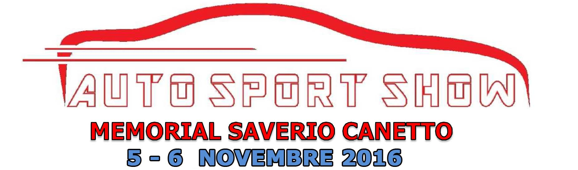AUTO SPORT SHOW 2016 - MEMORIAL SAVERIO CANETTO