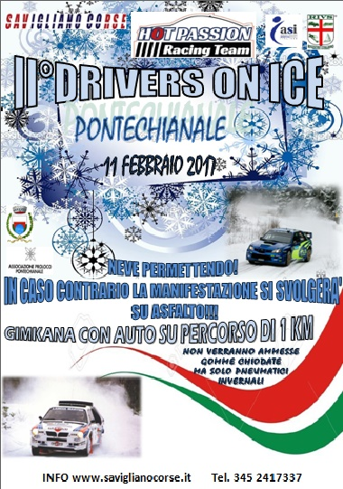 2° DRIVERS ON ICE PONTECHIANALE